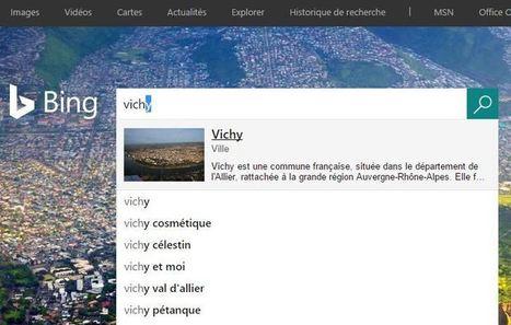 Bing Search ajoute des images dans son système d'autocomplétion | Référencement internet | Scoop.it