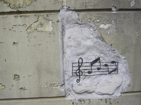 Musical graffiti   DESARTSONNANTS - CRÉATION SONORE ET ENVIRONNEMENT - ENVIRONMENTAL SOUND ART - PAYSAGES ET ECOLOGIE SONORE   Scoop.it