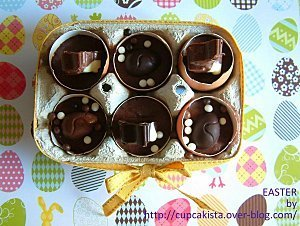 Adorables oeufs DIY {à la mousse au chocolat} de Pâques | Oeufs a la neige | Scoop.it