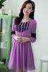 Ruffled 3/4 Sleeve Dress - OASAP.com | Oasap street fashion | Scoop.it