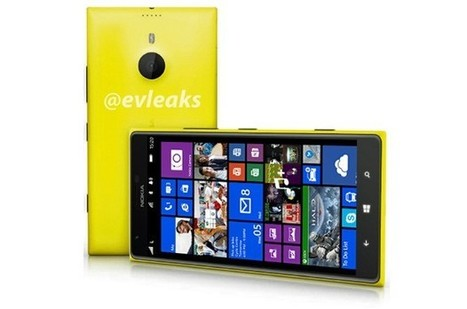 Extra-large Nokia Lumia 1520 surfaces in press image - Engadget | Advanced Technology | Scoop.it
