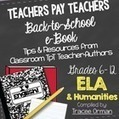 ELA Back to School Free eBook Grades 6-12 | Common Core Resources for ELA Teachers | Scoop.it
