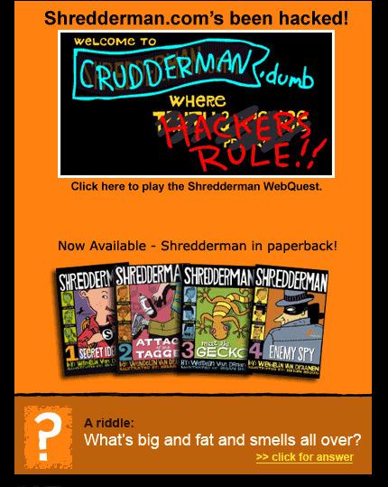 SHREDDERMAN | Book Web Sites | Scoop.it