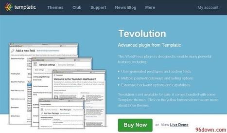 Templatic Tevolution 1.0.7 Wordpress Plugin - Download Free Nulled Scripts   Christmas   Scoop.it