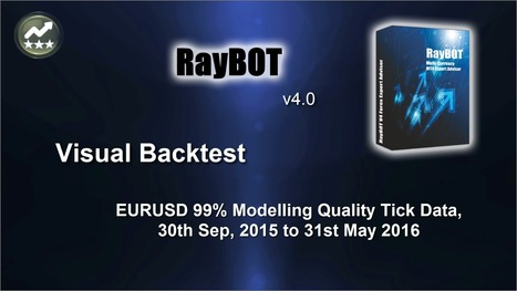 RayBOT EA v4.0 EURUSD 8 Months Visual Backtest Video   Forex Robots   Scoop.it
