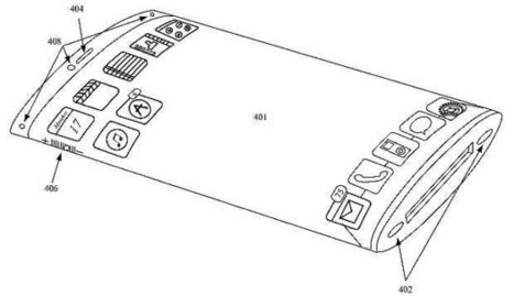 A new patent filed by Apple shows how future smartphones may look like | Flexible screen | Scoop.it