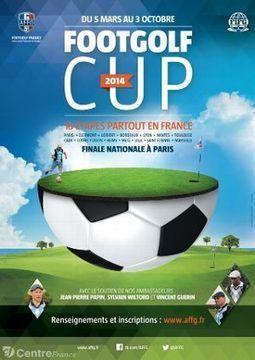 Le footgolf s'offre une Coupe pour mieux se faire connaître en France - Echo Républicain | actualité golf - golf des vigiers | Scoop.it