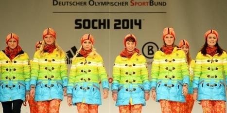 Les tenues allemandes aux JO de Sotchi, un manifeste gay ? | Sport Marketing | Scoop.it
