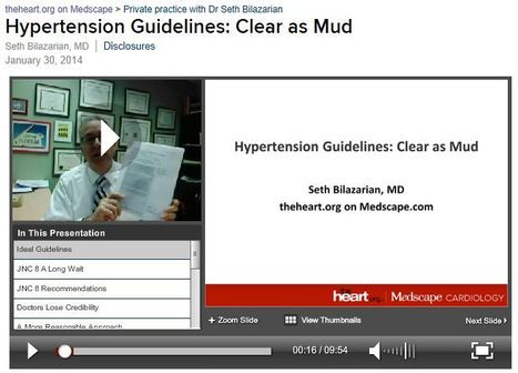 My Vlog: Hypertension Guidelines: Clear as Mud! | Heart and Vascular Health | Scoop.it