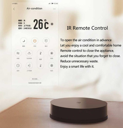 $20 Xiaomi Mi Smart Remote Center Controls Infrared Home Appliances via Your Smartphone | Embedded Systems News | Scoop.it