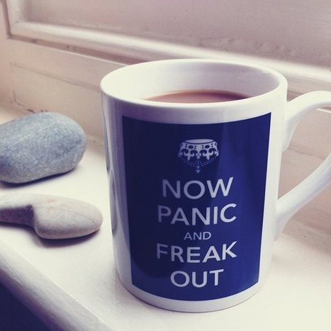 Now Panic & Freak Out Mug | Gadgets | Scoop.it