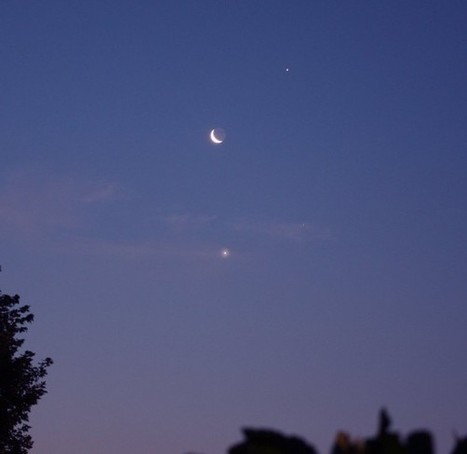 Weekend Sky Show: Moon Joins Stellar Gems – News Watch   The Moon - Grade 3   Scoop.it