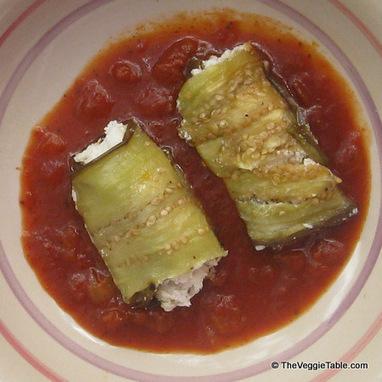 Eggplant Rollatini | Vegetarianism | Scoop.it