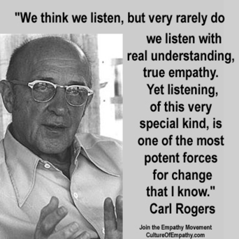 Culture of Empathy Builder: Carl Rogers - Page 2 | focusing_gr | Scoop.it