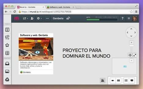 Mural.ly, una pizarra de ideas en tu navegador web | LES TICE EN CLASSE DE FLE | Scoop.it
