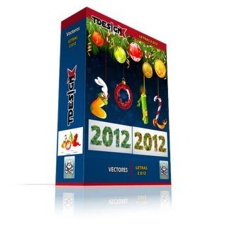 Tdesignx Material para Diseño: Letras navideñas 2012 [vectores]   Recursos   Scoop.it