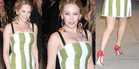 Kylie Minogue: che fatica essere all'avanguardia nel look - Sfilate | fashion and runway - sfilate e moda | Scoop.it