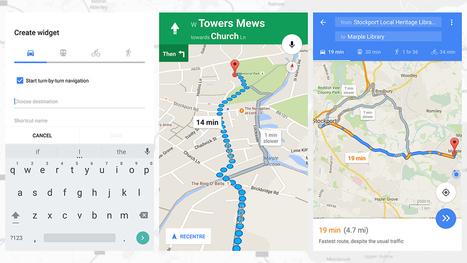 Google Maps vous propose d'ajouter un raccourci sur votre téléphone Android pour rentrer plus vite à la maison | Time to Learn | Scoop.it