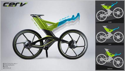 CERV, una bicicleta radicalmente diferente | Microsiervos (MundoReal™) | Diseños y Soluciones | Scoop.it
