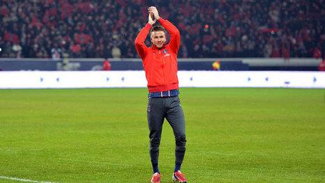 El 'Caballero del Fútbol Inglés', David Beckham, anuncia su retirada - RTVE | Estilo | Scoop.it