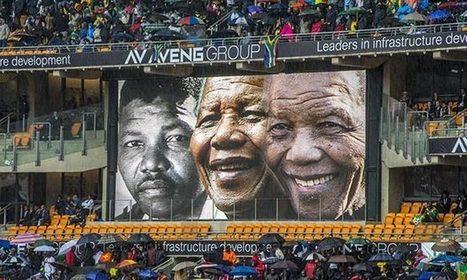 Barack Obama lights up damp Nelson Mandela memorial | World ... | actualité | Scoop.it