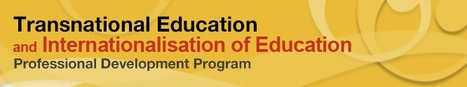 Transnational Education (TNE) professional development program | Vocational education and training - VET | Scoop.it