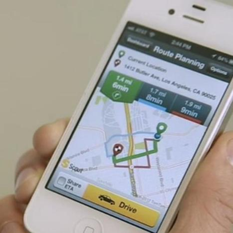 iPhone GPS App Scout Offers Personalized Directions | iPhones and iThings | Scoop.it