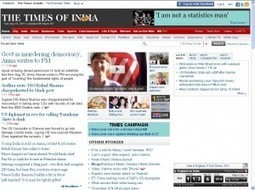 The Times of India : premier site d'information au monde | MédiaZz | Scoop.it