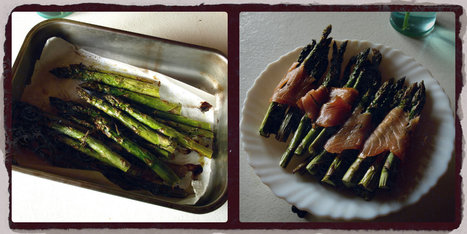 Oven roasted Asparagus Bundles with smoked salmon | Real Deal Food | Scoop.it