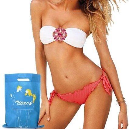 Zicac SEXY Girl Women Lady Bikini SET Push-up Padded Bra Swimsuit Bathing Suit Swimwear Hot Strapless (Pink, M:US4-6) 2014 | Bra size calculate ttn | Thai Book Today | Scoop.it
