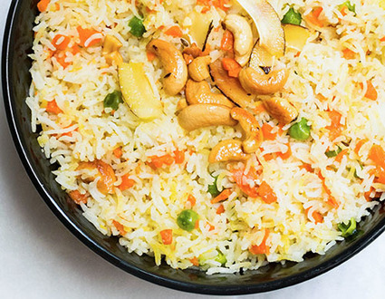 Indian Coconut Rice Pulao | Food for Foodies | Scoop.it
