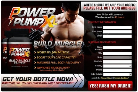 Power Pump XL Muscle Building Supplement Reviews - Risk Free Trial | Best Way To Increase Muscles | Scoop.it