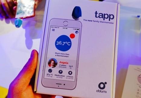 Oblumi Tapp, un thermomètre connecté pour enfants - Aruco | e-santé,m-santé, santé 2.0, 3.0 | Scoop.it