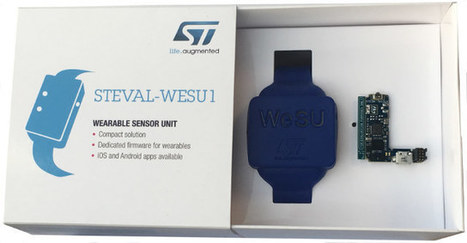 $49 STEVAL-WESU1 Wearable Sensor Unit Reference Design is Based on STMicro STM32 MCU | Embedded Systems News | Scoop.it