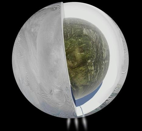 Saturn's Moon Enceladus Is Now A Top Candidate For Life | Love learning! | Scoop.it