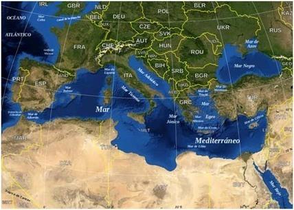El mar Mediterráneo: medio físico y ecología - Ciencia y biología | Agua | Scoop.it
