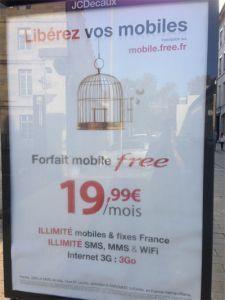 Nouvelle publicité Free Mobile : la cage aux pigeons est ouverte | Richard Dubois - Mobile Addict | Scoop.it