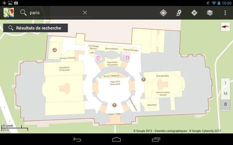 Géolocalisation Indoor au Palais de la découverte | À la une | Scoop.it