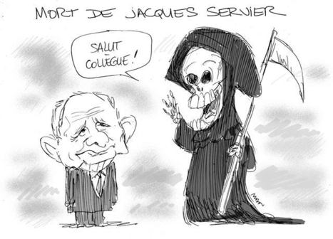 Mort de Jacques Servier | Baie d'humour | Scoop.it