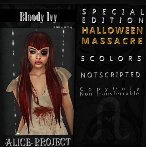 Free hair at Alice Project | Second Life Freeness Huntress | Scoop.it