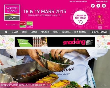 Sandwich & Snack Show | Créativité des sauces, design contemporain des mignonettes, marketing réussi des marques et fabrication made in France. | Scoop.it