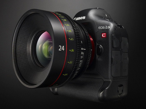 Canon 1DC gets long-awaited 25p 4K update, through service facilities only «  cinema5D | Video & Design | Scoop.it