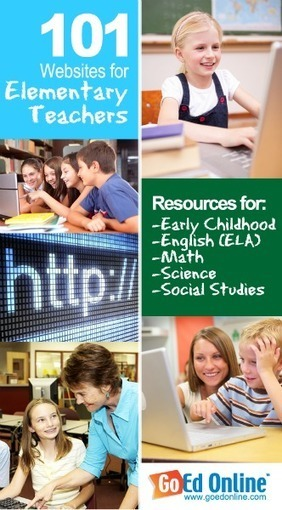 101 Websites That Every Elementary Teacher Should Know About | Technology in schools | Scoop.it