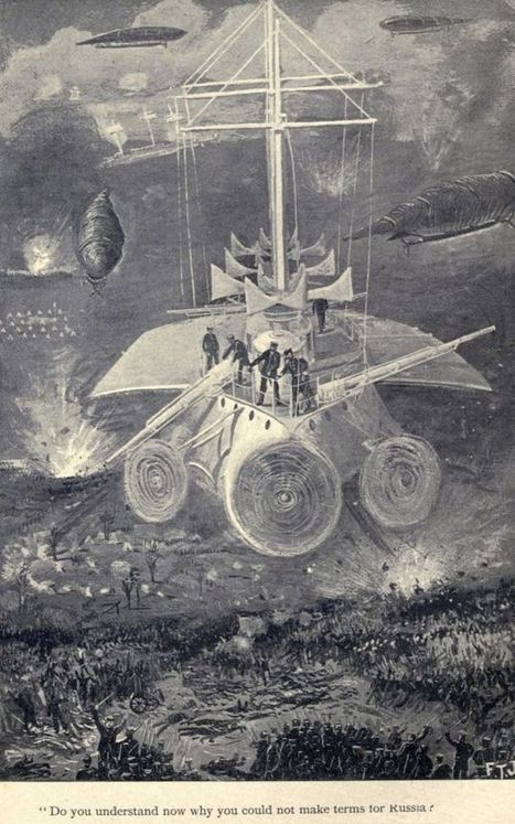 This Is How We Imagined Aerial Warfare 120 Years Ago | Strange days indeed... | Scoop.it