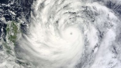 Powerful typhoon moves in on SE Asia