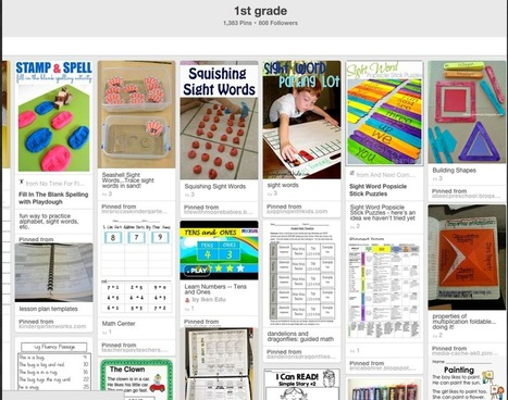 7 Excellent Pinterest Boards for Elementary Math Teachers ~ Educational Technology and Mobile Learning | Bismillah | Scoop.it