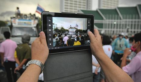 Como auténticos periodistas, en el aula y con tabletas -aulaPlaneta | APRENDIZAJE | Scoop.it