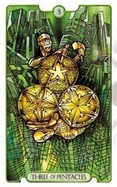 3 of Pentacles as Productivity Card | Tarot Reading | Scoop.it