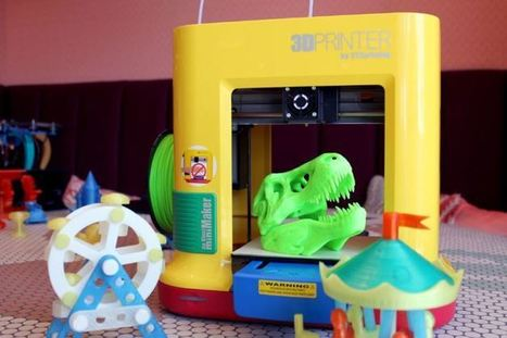 XYZ launches a $249 3D printer forschools - @TechCrunch | iPads, MakerEd and More  in Education | Scoop.it