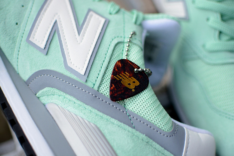 New Balance Made in USA M996CPS (Mint Green/3M) | #Design | Scoop.it